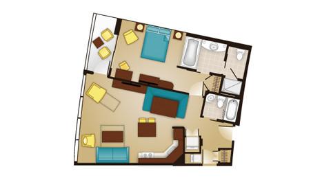 Bay Lake 1 Bedroom Villa