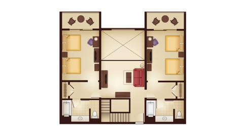 Kidani 3 Bedroom Villa - 2nd Floor