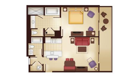 Kidani 1 Bedroom Villa