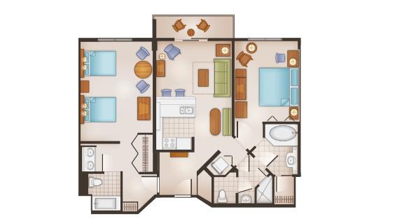 SS 2 Bedroom
