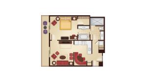 Grand Floridian 1 Bedroom Villa