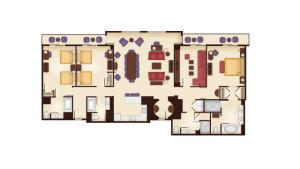 Grand Floridian 3 Bedroom Villa