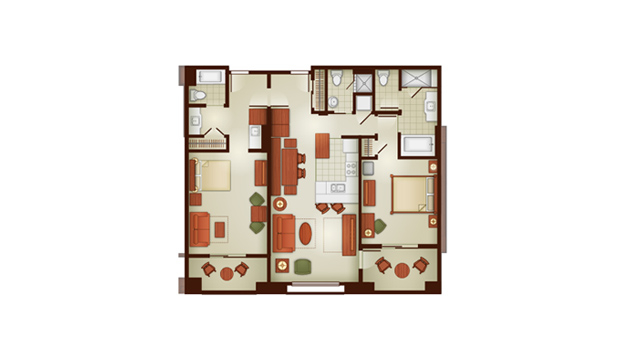 Grand Californian 2 Bedroom