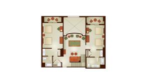Grand Californian 3 bedroom 2nd floor