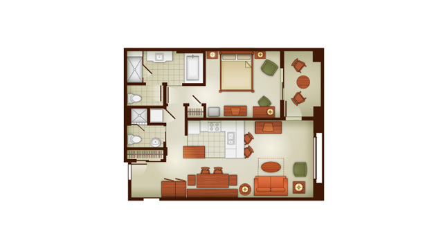 Grand Californian 1 Bedroom