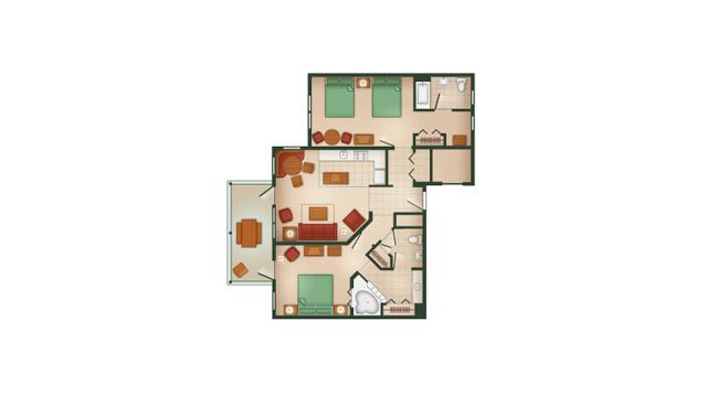 Hilton Head 2 bedroom villa