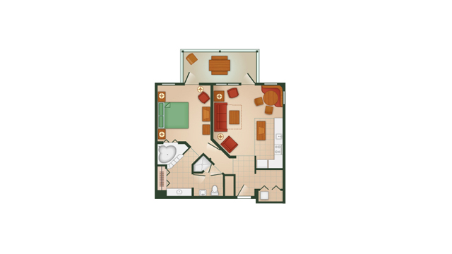 Hilton Head 1 Bedroom Villa
