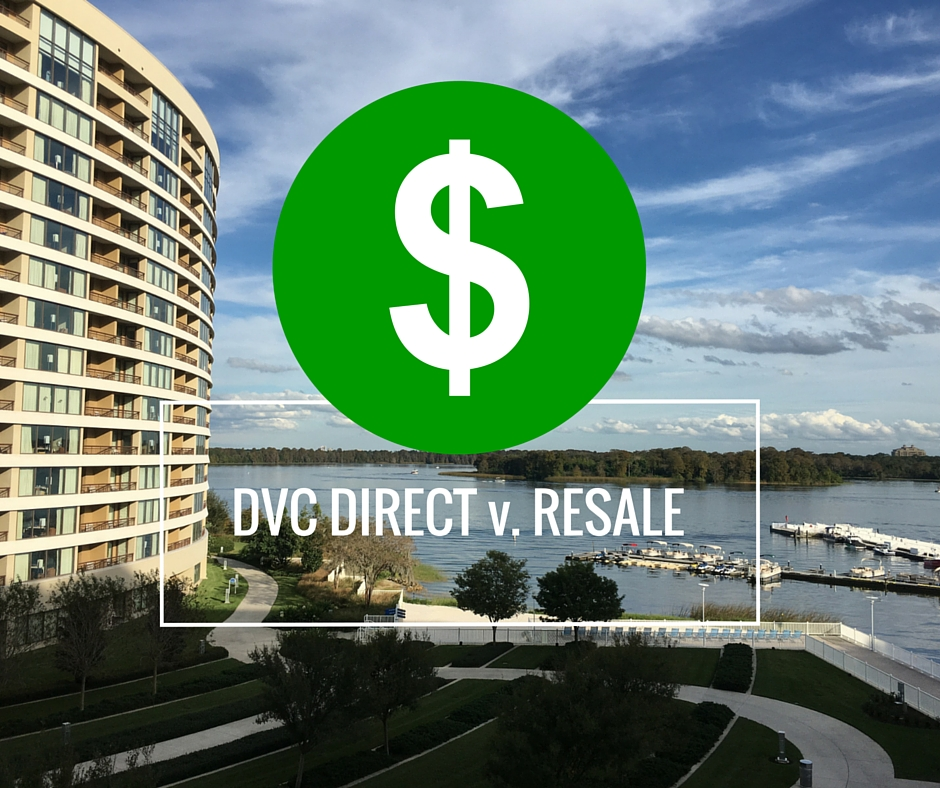 DVC Pricing versus Resale