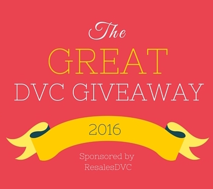 The Great DVC Giveaway