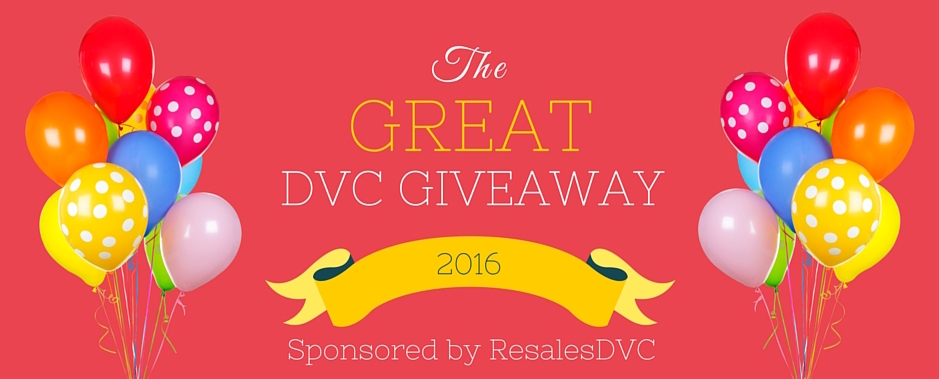 DVC Giveaway Official Contest Rules