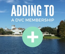 Adding to DVC Memberships