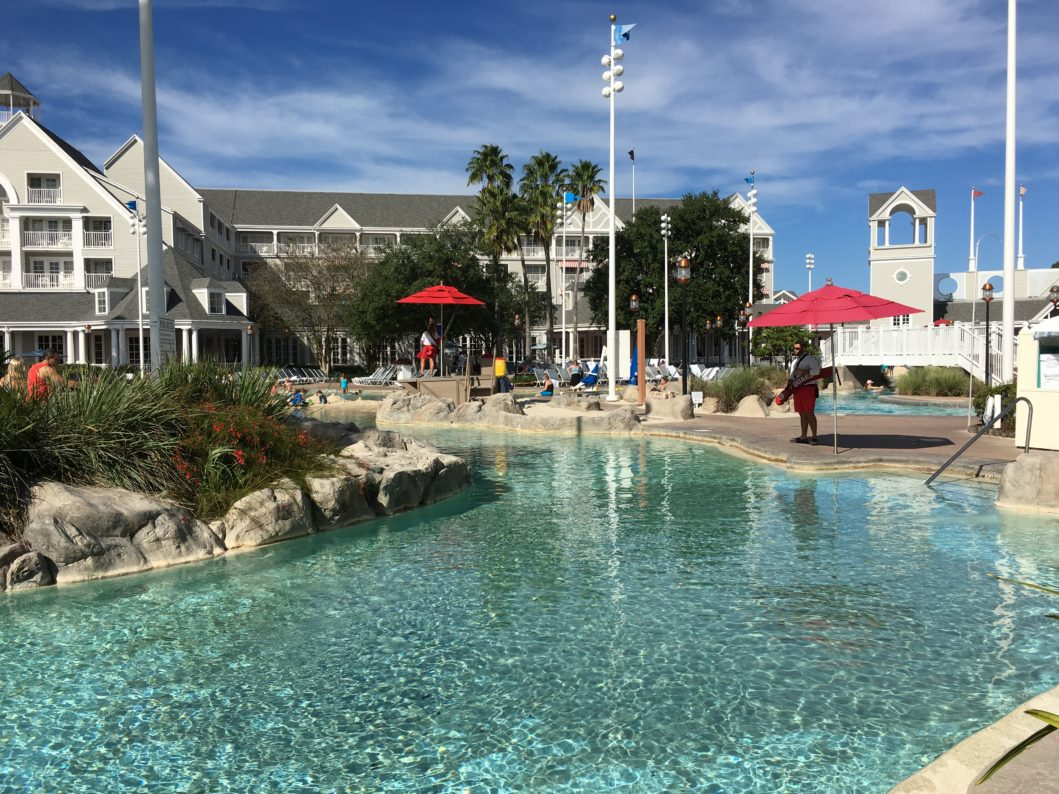 DVC Beach Club pool