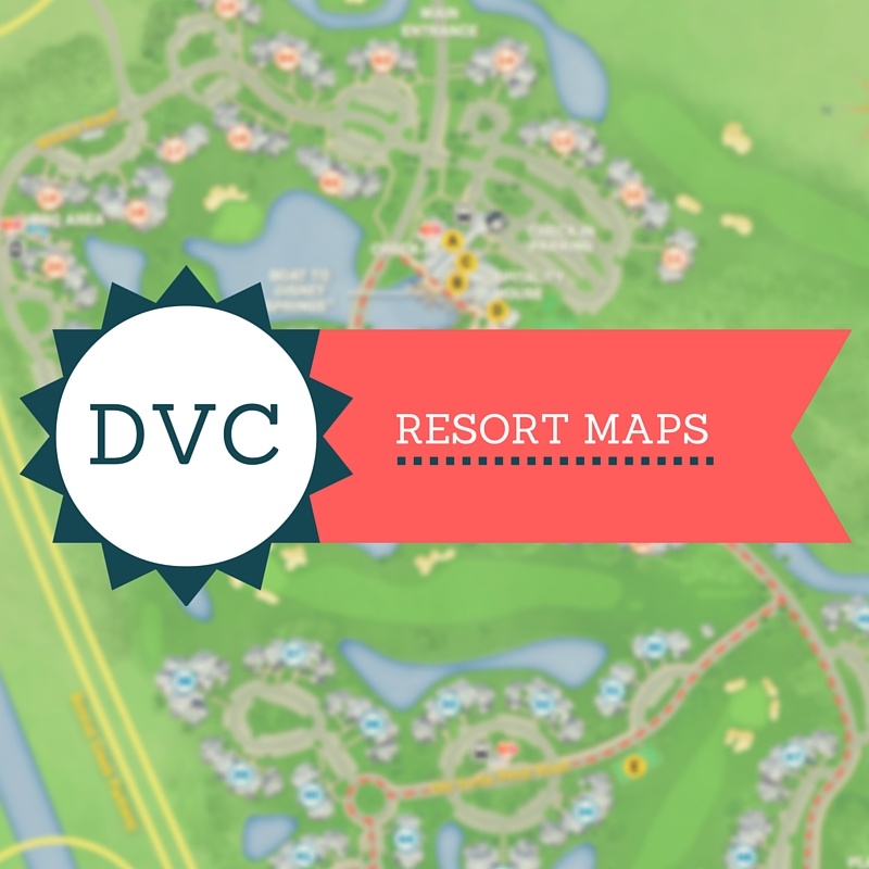 DVC RESORT Maps