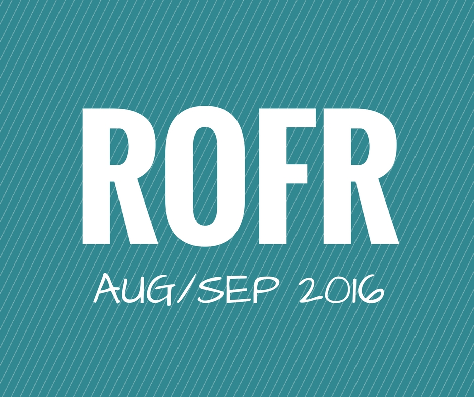 DVC ROFR stats for August and September