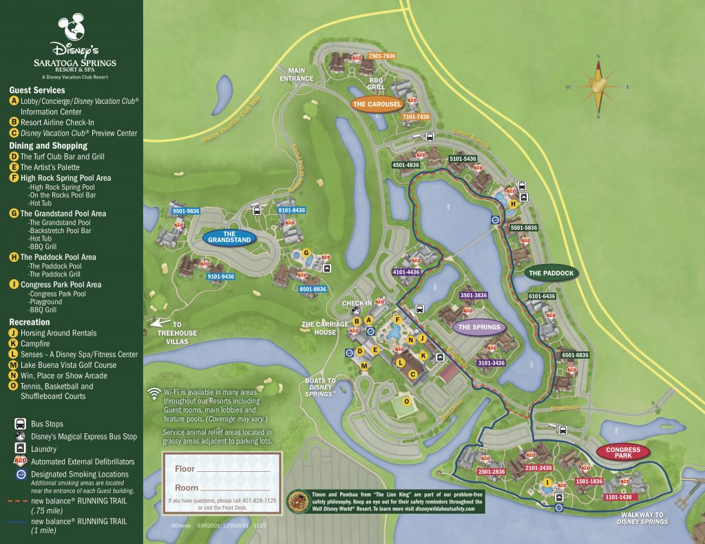 How to Request and Get The Best Rooms at Disney World Resorts Disney Boardwalk Map on