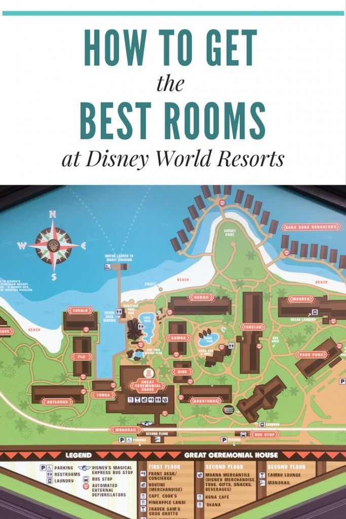 How to request and GET the best rooms at Disney World Resorts