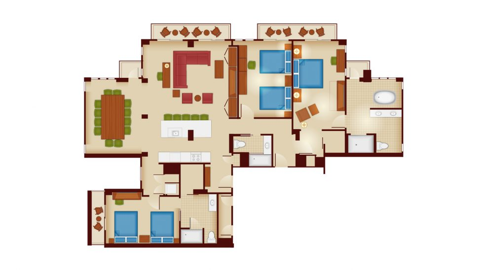 Copper Creek Grand Villa Floorplan