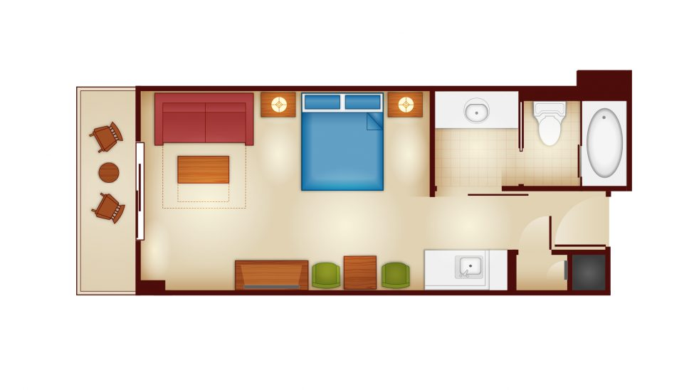 COPPER CREEK STUDIO FLOORPLAN
