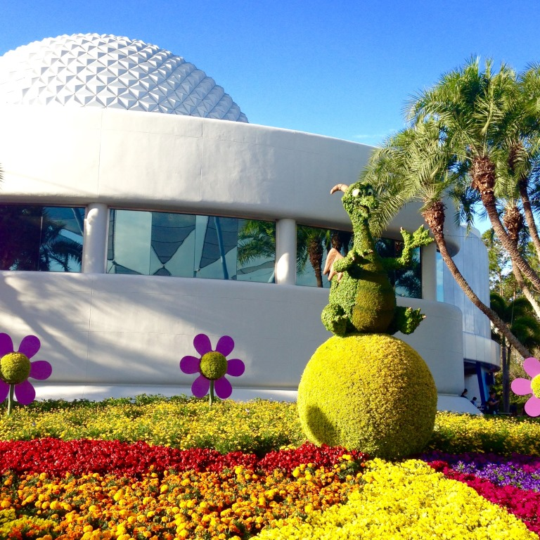 Epcot Flower and Garden for Kids