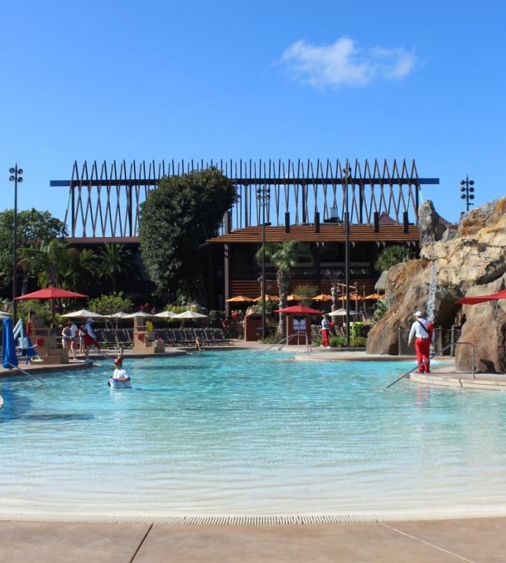 Disney's Polynesian Lava Pool
