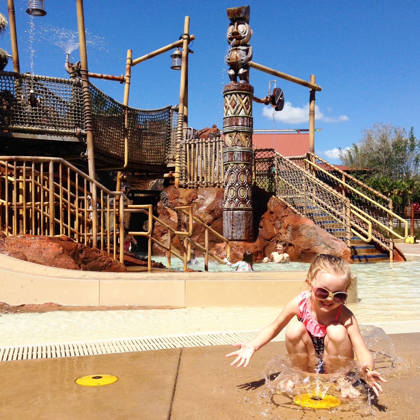 Disney's Polynesian Splash Pad