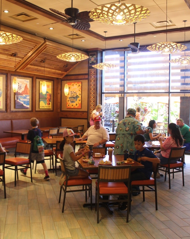 Dining at Disney's Polynesian Village