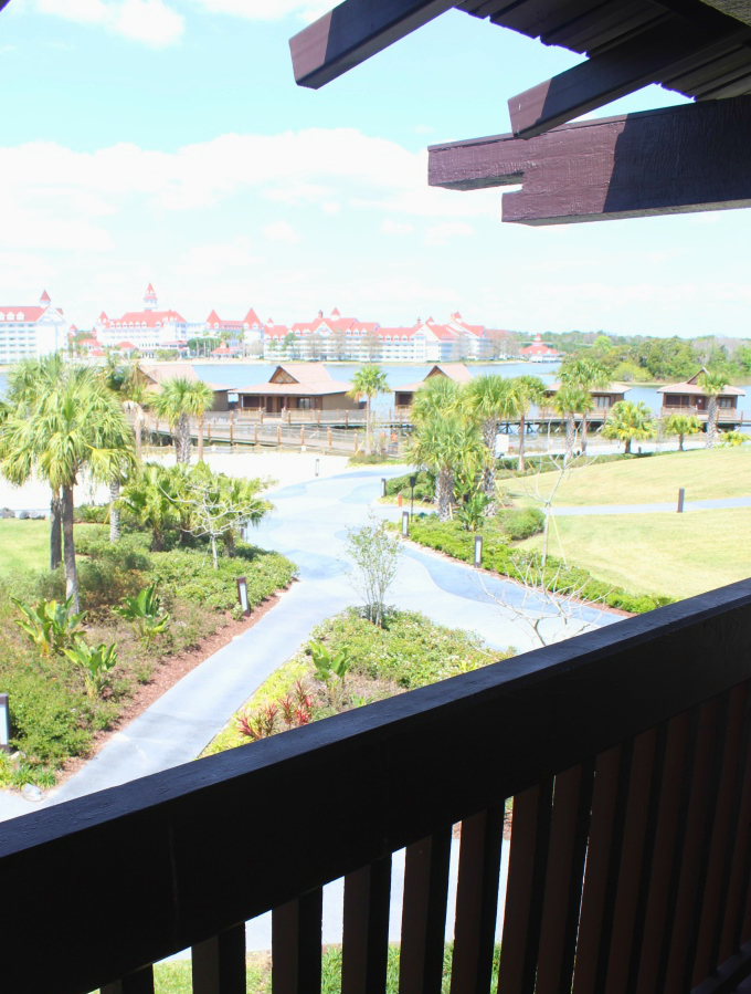 Disney Polynesian lake view