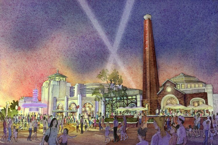 The-Edison_Rendering at Disney Springs