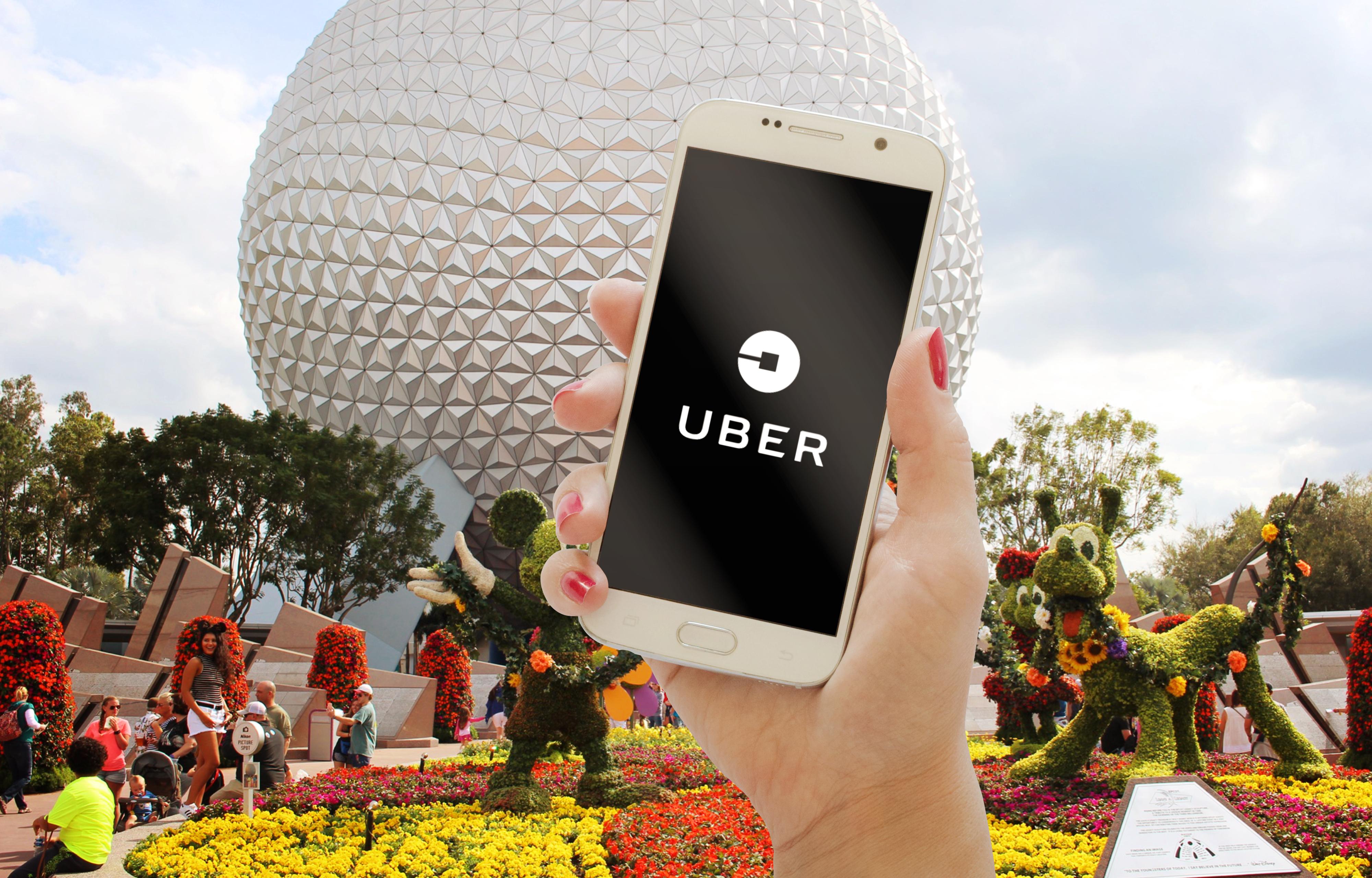 How to Uber at Walt Disney World