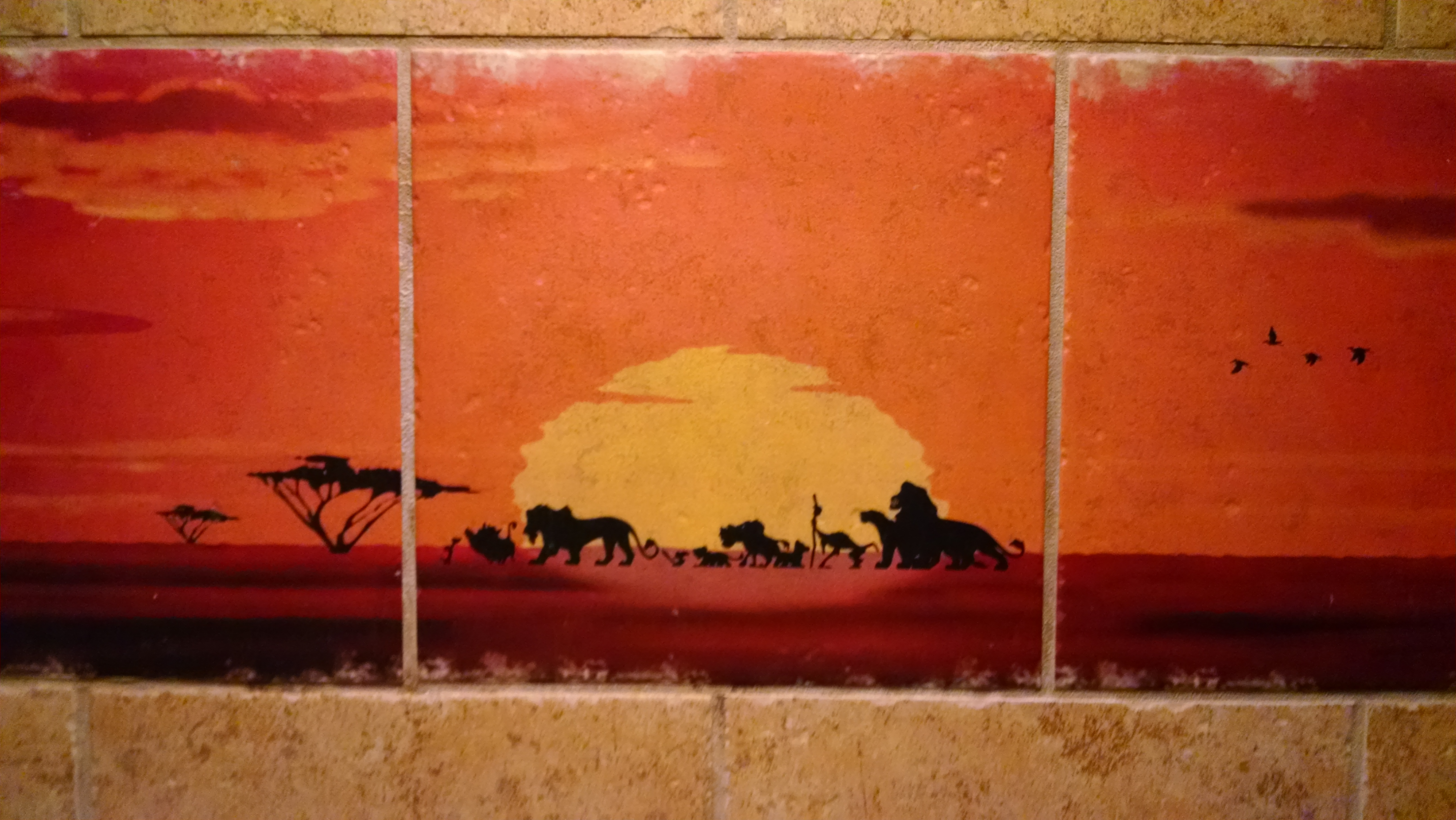 Lion King Tiles - Animal Kingdom DVC