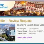 How To Waitlist a DVC Reservation