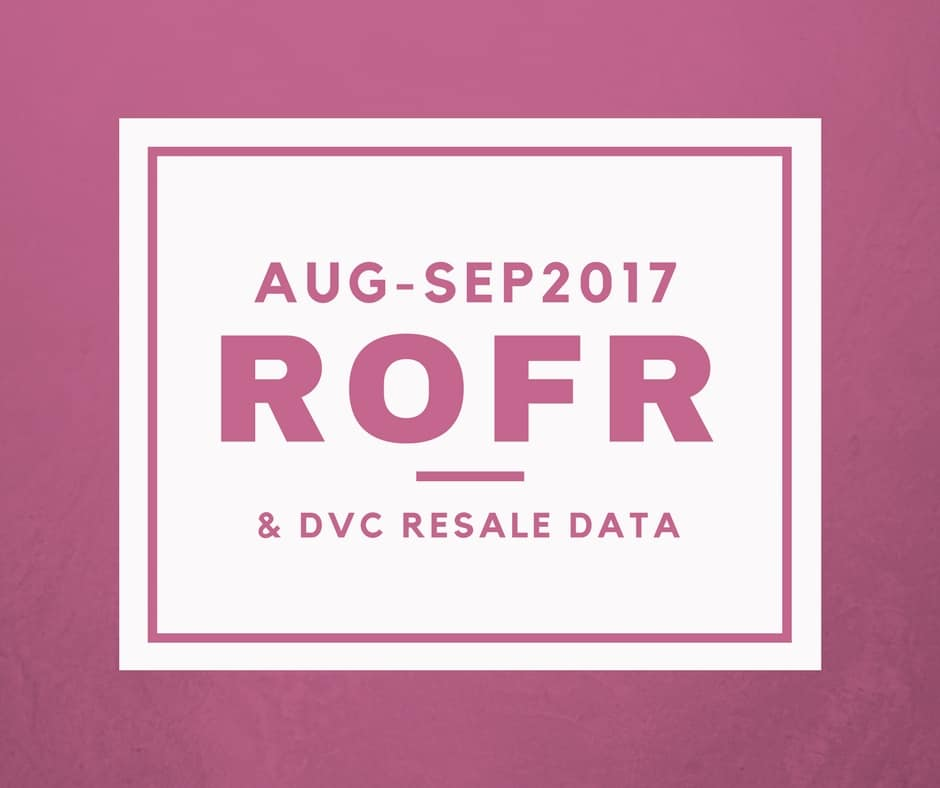 DVC ROFR and Resale Data