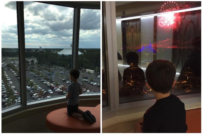 Bay Lake Tower Views