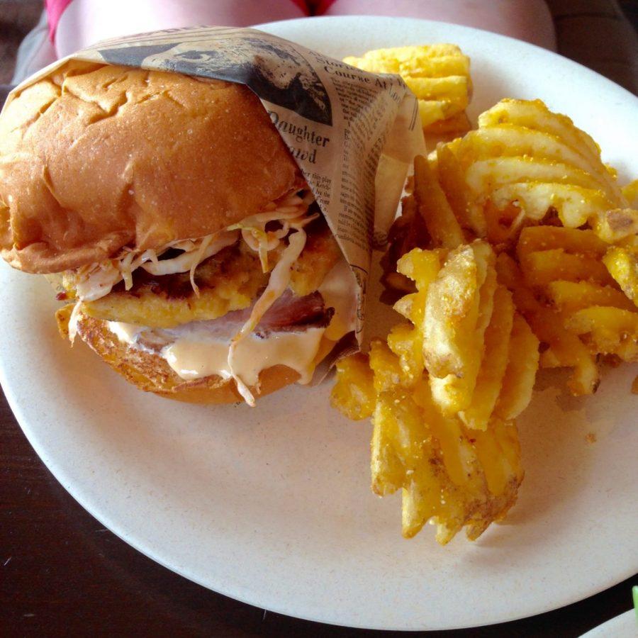 Lump Crab Sandwich