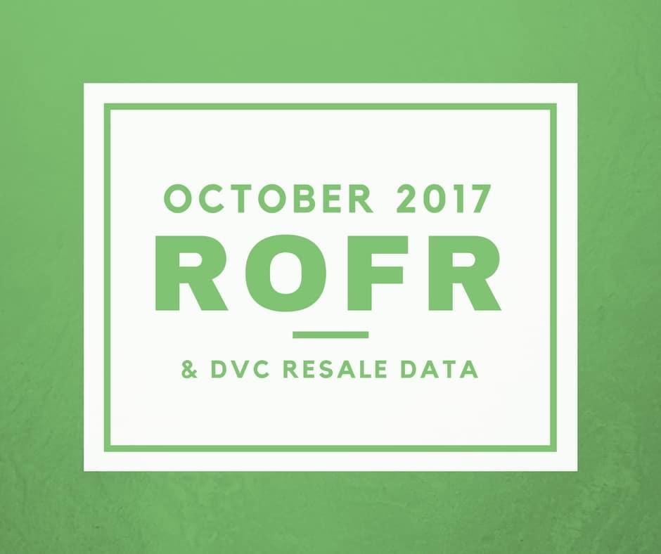October ROFR