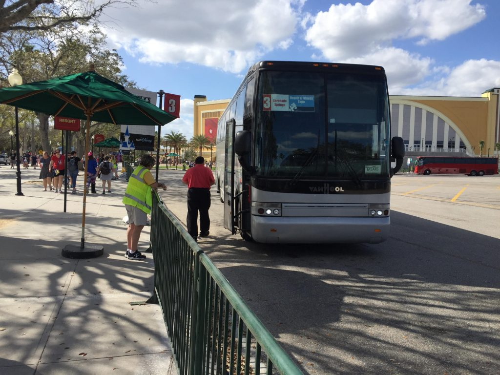runDisney Bus