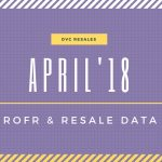 April 2018: DVC Resale and ROFR Data