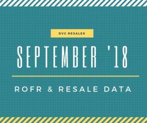 September 2018 ROFR