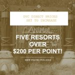 2019 DVC Direct Price Increases