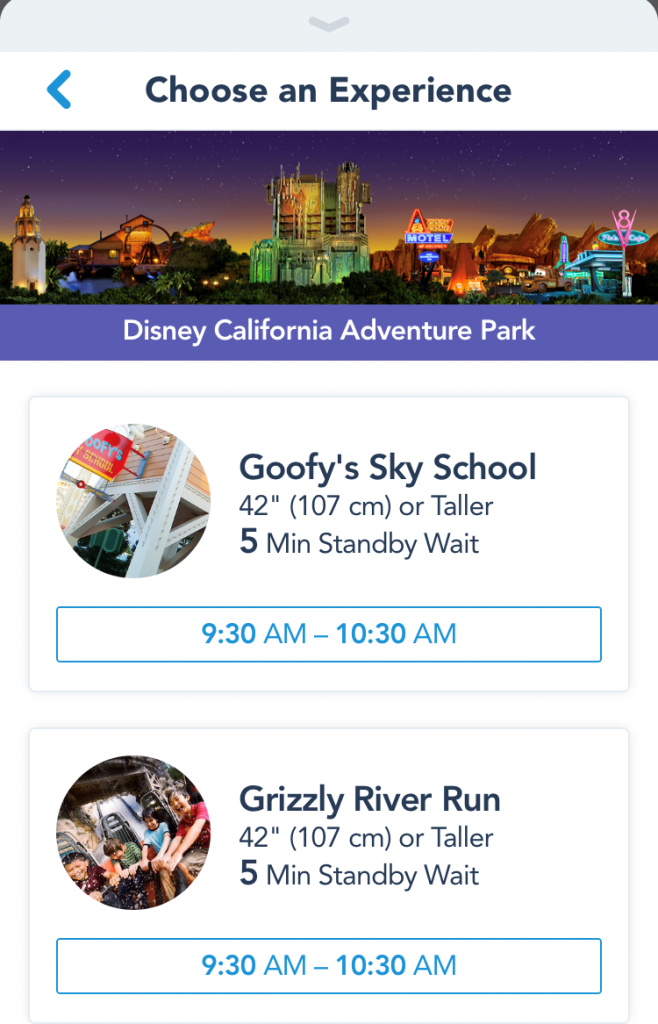 Disney's Maxpass