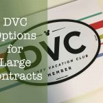 DVC Options for 300+ Point Contracts