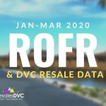 First Quarter 2020: DVC ROFR & Resale Data
