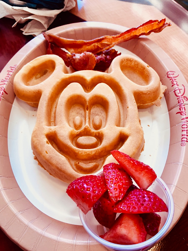 California Grill Breakfast Dining at Disney's Bay Lake Tower Orlando Florida Resales DVC