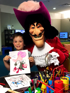 Character Coloring Disney's Bay Lake Tower Orlando Florida Resales DVC Peter Pan Captain Hook