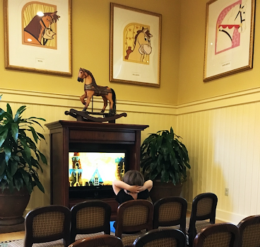 Disney Horses Saratoga Springs Resort and Spa Disney Resales DVC Orlando Florida