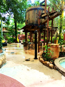 Samawati Trading Company Animal Kingdom Lodge Children's Water Play Area