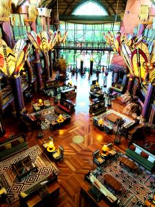 Jambo House Lobby Animal Kingdom Lodge