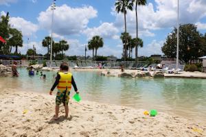 Stormalong Bay Pool Sandy Beach Pool Area Disney's Beach Club Resort DVC Disney's Yacht CLub Resort