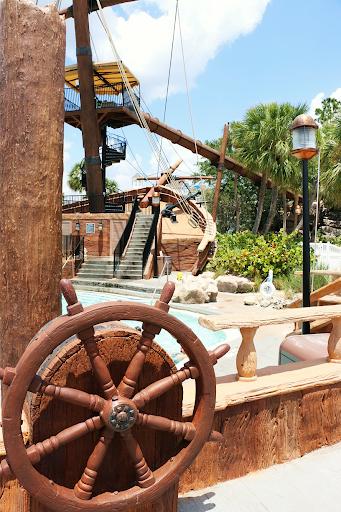 Pirate Ship Stormalong Bay Pool Disney Beach Club Resort