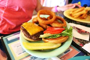 Disney Beach Club Resort Beaches and Cream Soda Shop Hamburger DVC